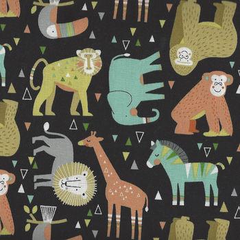 Northcott Safari Swank  Jungle Animals 22400 Color 99
