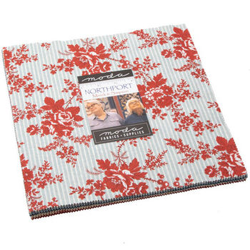 Northport Layer Cake Precut 42 10inch Squares by Minick and Simpson For Moda 14880LC