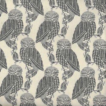 Owls by KOKKA Cotton Fabric IGA24100 001D17