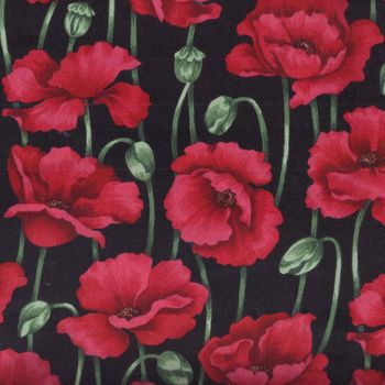 POPPIES by Nutex Fabrics