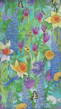 PandB Textiles Naturesand39 Garden 00507 colour multi