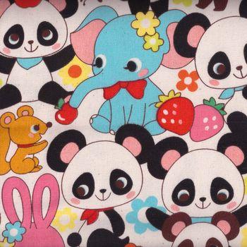 Panda from Cosmo fabrics