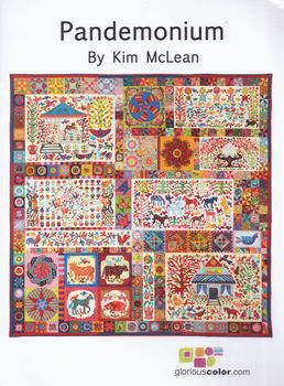 Pandemonium by Kim McLean Applique Pattern