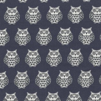 Papillon Owls from Makower Fabrics StyleTP 1763 Colour S