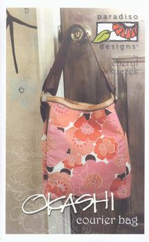 Patchwork Bag Pattern andquotOkashi Courier Bagandquot by Paradiso Designs