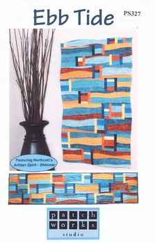 Patchwork Quilt Pattern andquotEbb Tideandquot from Patchworks Studio