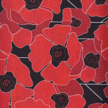 Poppy Passion by Karen Roti for Clothworks