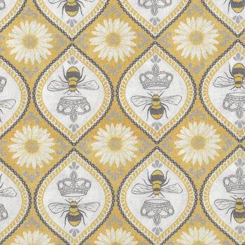 Queen Bee by Diane Kappa For Michael Miller Patt DC9156 Hive Queen