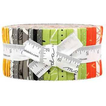 Quotation Jelly Roll by Zen Chic for Moda Fabric 1730JR