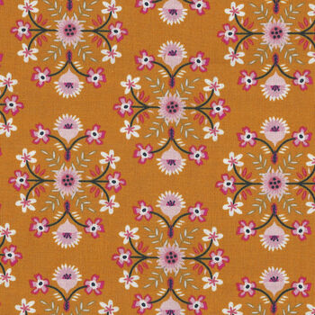 Riley Blake Designs Golden Aster By Gabrielle Neil C9841 Color Mustard