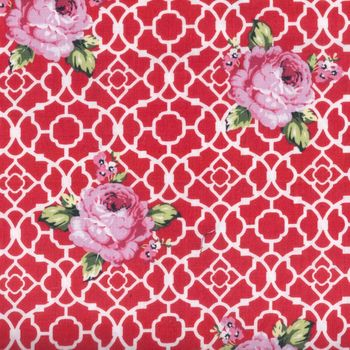 Ring A Roses cotton fabric from Guetermann 6474200383