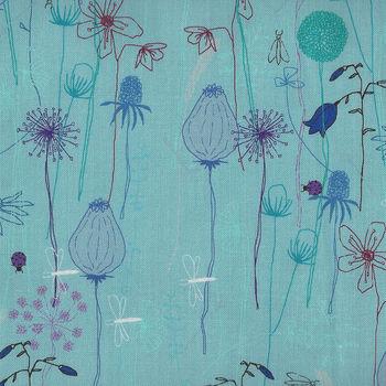 Roadside Flowers By Stoff Danish Design Fabrics MSD18048 4500781