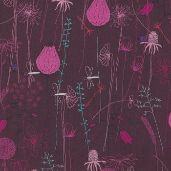 Roadside Flowers By Stoff Danish Design Fabrics MSD18048 4500783
