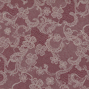 Rose Life Garden Collection by Lecien Fabric 31521 Col 30 Bergundy