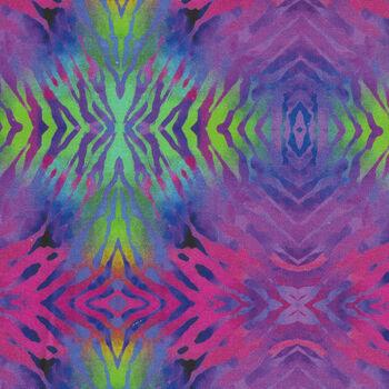 Safari by Jason Yenter Digital Fabric 3 SAF Color 1 In The Beginning Fabrics PinkLime