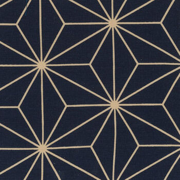 Sashiko Wide Quilt Backing By Nutex Fabrics 108280cm 78790 Col1 Navy