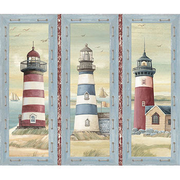 Seaside from Quilting Treasures 164924652x