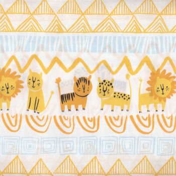 Serengeti Beasties by Alyssa Thomas for Clothworks Y1777 col1
