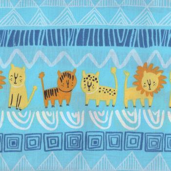 Serengeti Beasties by Alyssa Thomas for Clothworks Y1777 col33