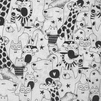 Sevenberry Black and White Animals 850135 Col 11