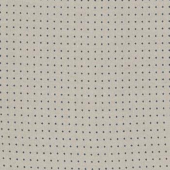 Sevenberry CreamBlack Crosses 83022 Colour 1