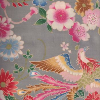 Sevenberry for Kokka Japanese Cotton Fabric Pheasant