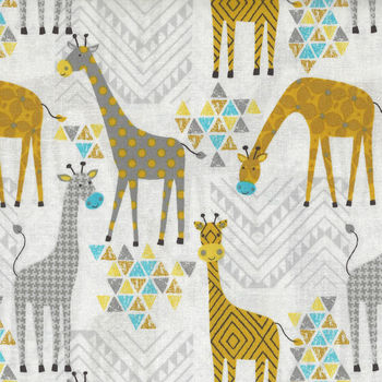 Stand Tall from Whistler Studios Giraffes On White 508371