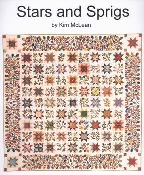 Stars and Sprigs Quilt Pattern from Kim McLean