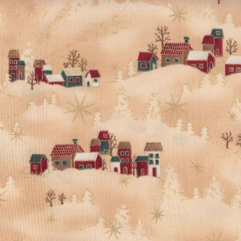 Stof andquotRaphaelandquot Christmas Fabric MCS1418