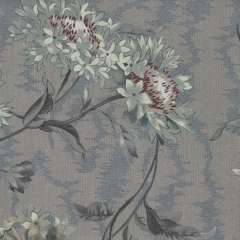 Textile Pantry by Junko Matsuda Japanese Fabric 1100063 Color D Dusky Blue Grey
