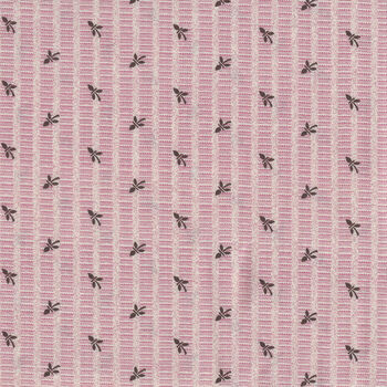 Textile Pantry by Junko Matsuda Japanese Fabric 1100253 Color B PinkChocolate