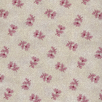 Textile Pantry by Junko Matsuda Japanese Fabric 110183 Color A CreamPink