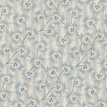 Textile Pantry by Junko Matsuda Japanese Fabric 110193 Color A CreamBlue