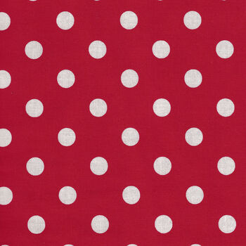 Thatand39s It Dot From Michael Miller Fabrics CX2489MINND RedWhite Spot