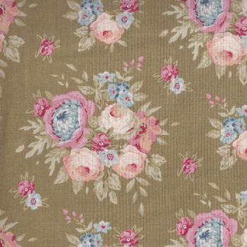 Tilda Quilt Collection Garden Flower 481117 col Green