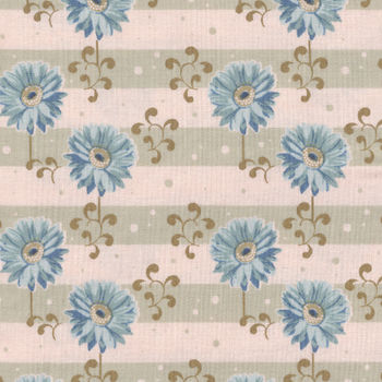Tilda Quilt Collection Gerbera 481113 col Blue