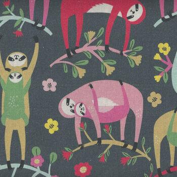 Tree Huggers by Maude Asbury For Blend Fabrics 101151011 Grey