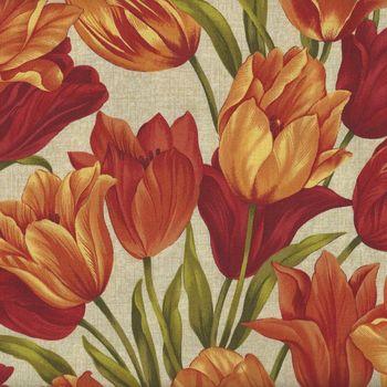 Tulip Festival for Benartex 1790 Color 10