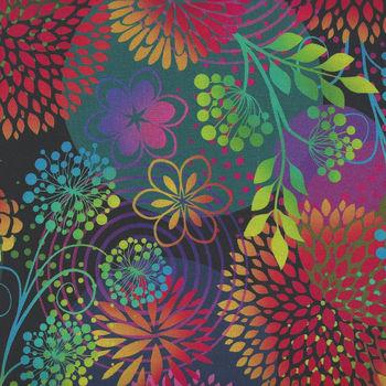 Unusual Garden 2 by Jason Yenter for In the Beginning Digital Fabric 3UGB