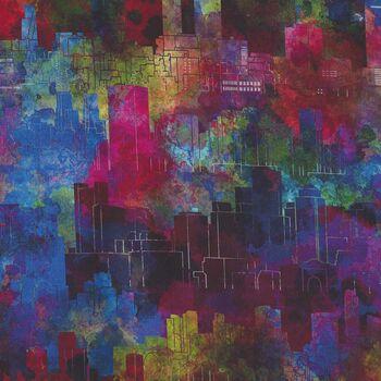 Urban Jungle by Jason Yenter for In The Beginning Fabrics Digital 2313 5UJ Colour 1