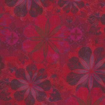 Venice By Christiane Marques For Robert Kaufman AQSD197223 Red Digital Print