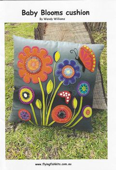 Wendy Williams Baby Blooms Cushion Pattern