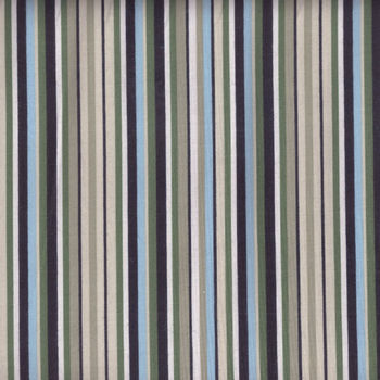 Wilmington Fabric Garden View Stripe 48332