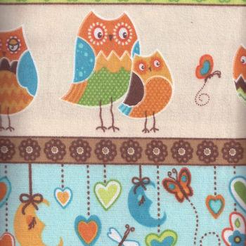 Wilmington Flannel  Owl Wonderful Patt 9038 col124