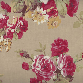 Yuwa Fabric Collection Made in Japan Kono Sanae 825370 Color C Roses