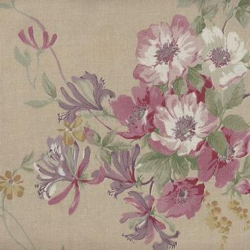 Yuwa Fabric Premium Collection Keiko Akita Made in Japan AK826451 Color F Briar Rose