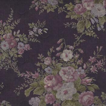 Yuwa Live Life Collection Japanese Fabrics 366073 Colour B Plum