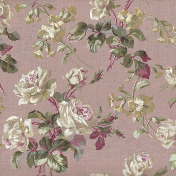 Yuwa Live Life Fabric Collection 825412 Colour B Roses
