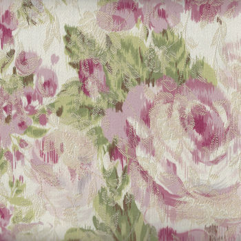 Yuwa Live Life Fabric Collection Made In Japan 299427 Color B Embossed Roses