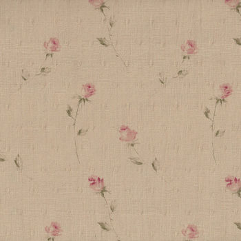 Yuwa Live Life Fabric Collection Premium Made In Japan 046218 Colour D Small Rose